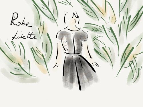 Passport dress de Lisette en tissu Etoffe des héros.